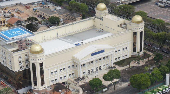 Templo Mayor transforma Curitiba